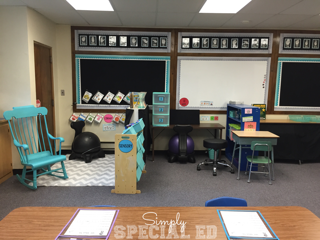 Tremendous A Look Inside My Autism Classroom Simply Special Ed Squirreltailoven Fun Painted Chair Ideas Images Squirreltailovenorg