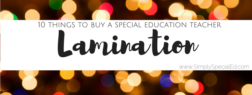 7 Things Special Education Teachers >> 10 Things To Buy A Special Education Teacher For Christmas Simply