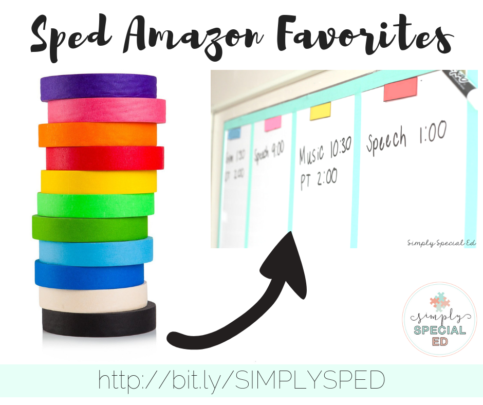 On Special Education How To Use Paper >> Special Education Amazon Favorites Simply Special Ed