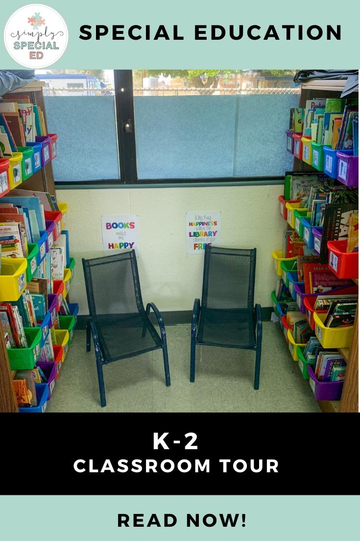 K-2 Classroom Tour Pinterest Pin