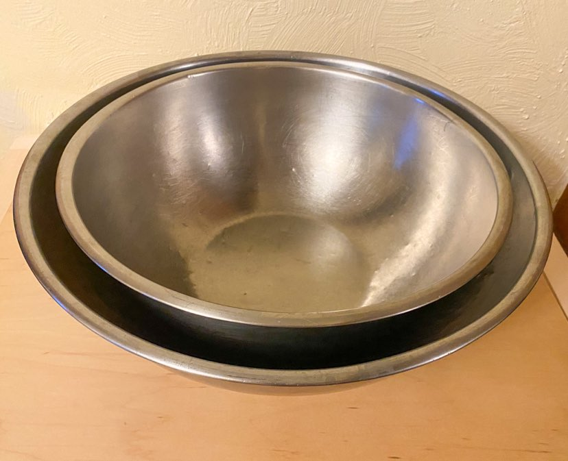 Two large bowls