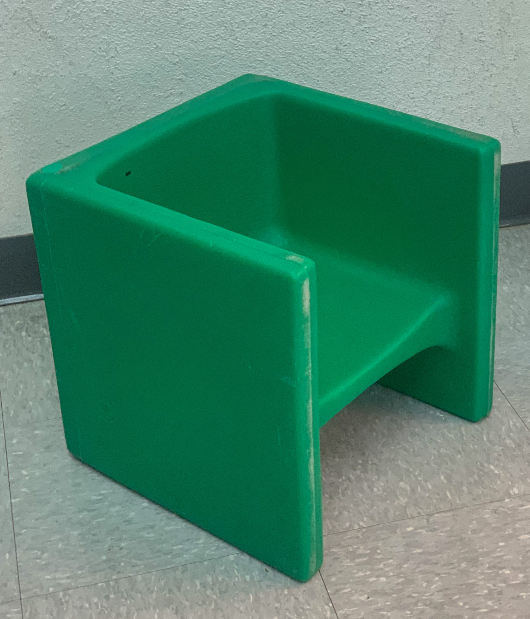 This is a photo of the cube seats I use in my classroom.